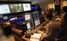 Salle de contrôle du CADMOS