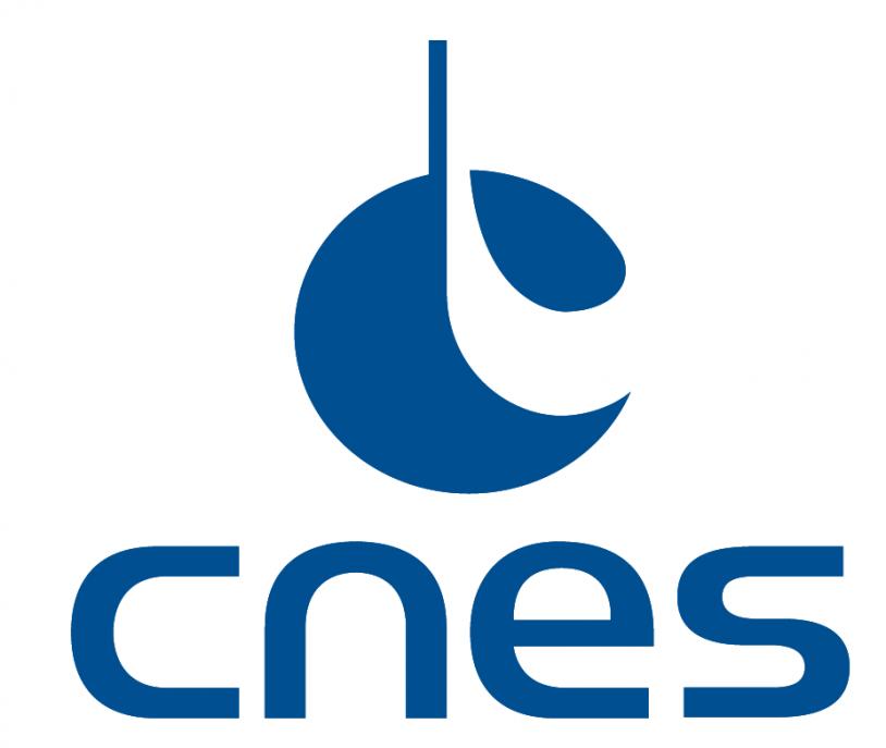 Logo CNES 2017 triangle bleu